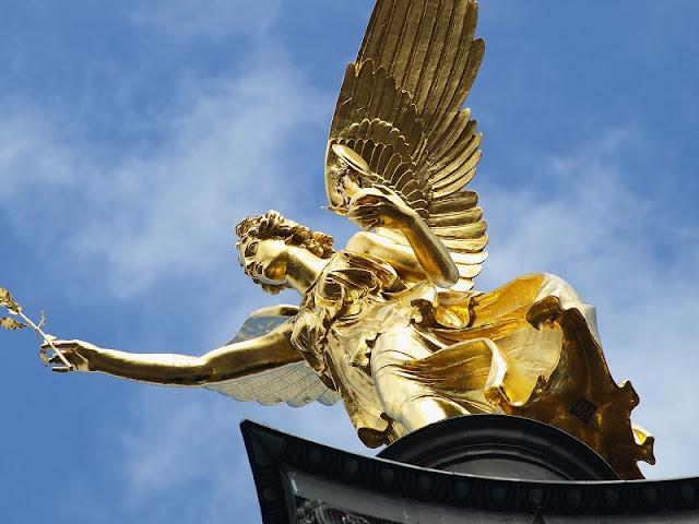 Anjo da Paz em Munique