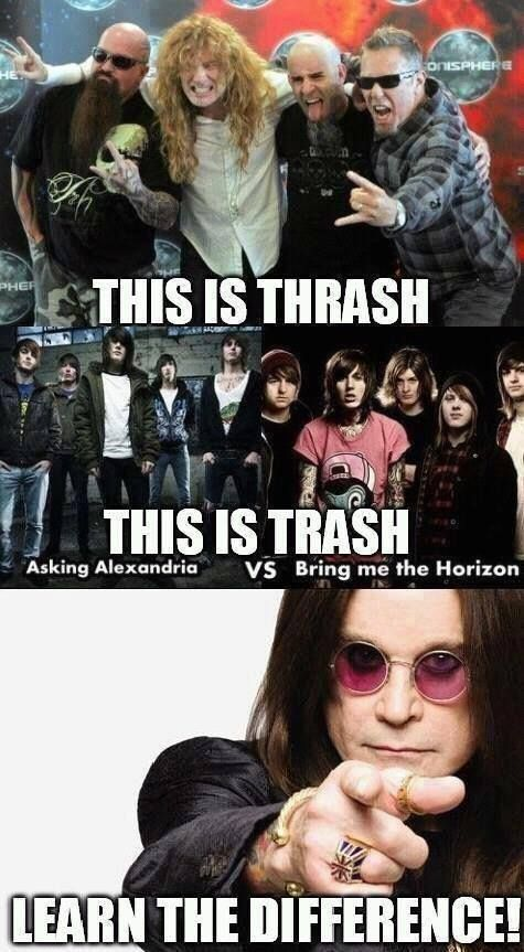 Thrash Metal vs Trash Metal  Learn the difference