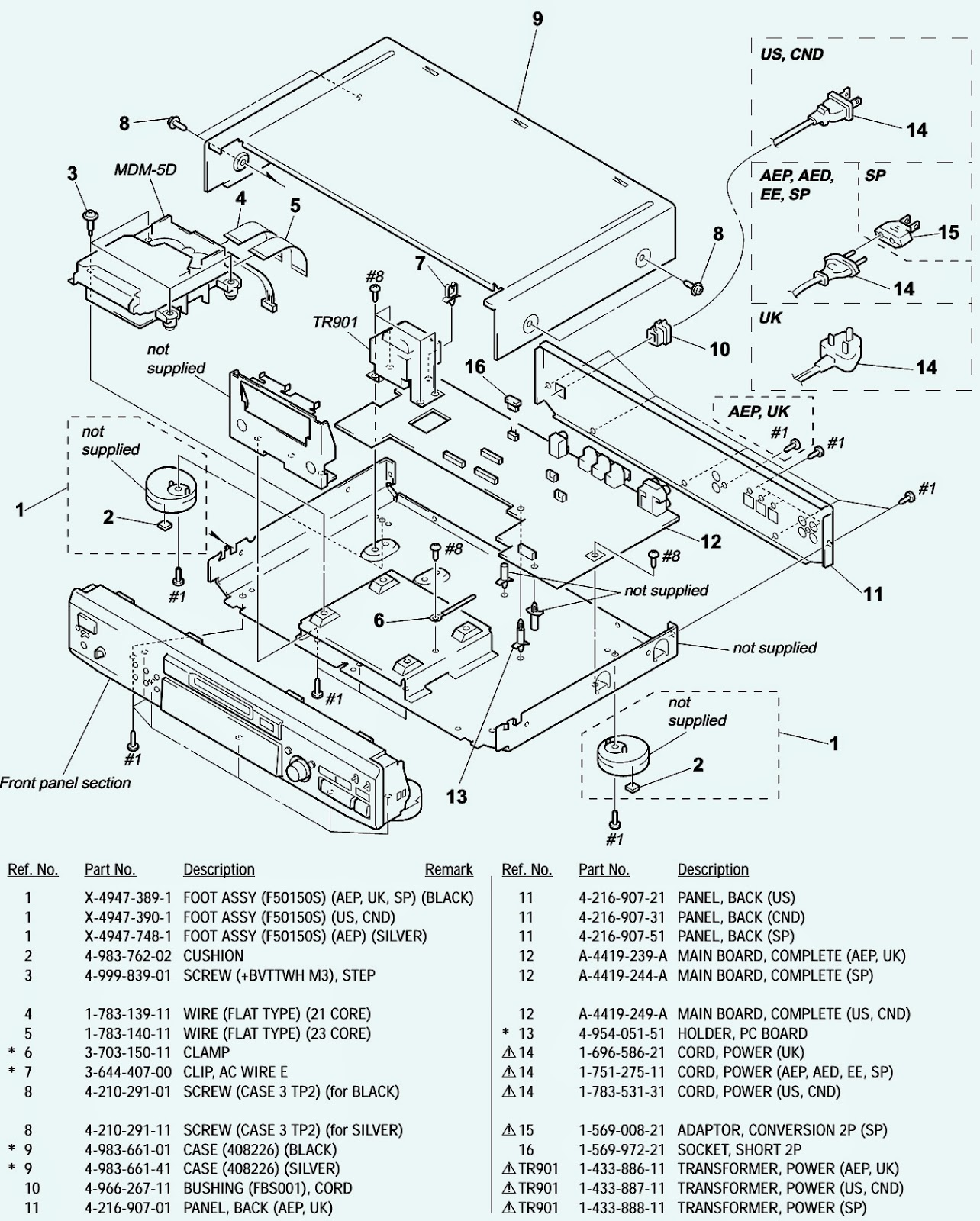 Volvo V70 Parts Diagram