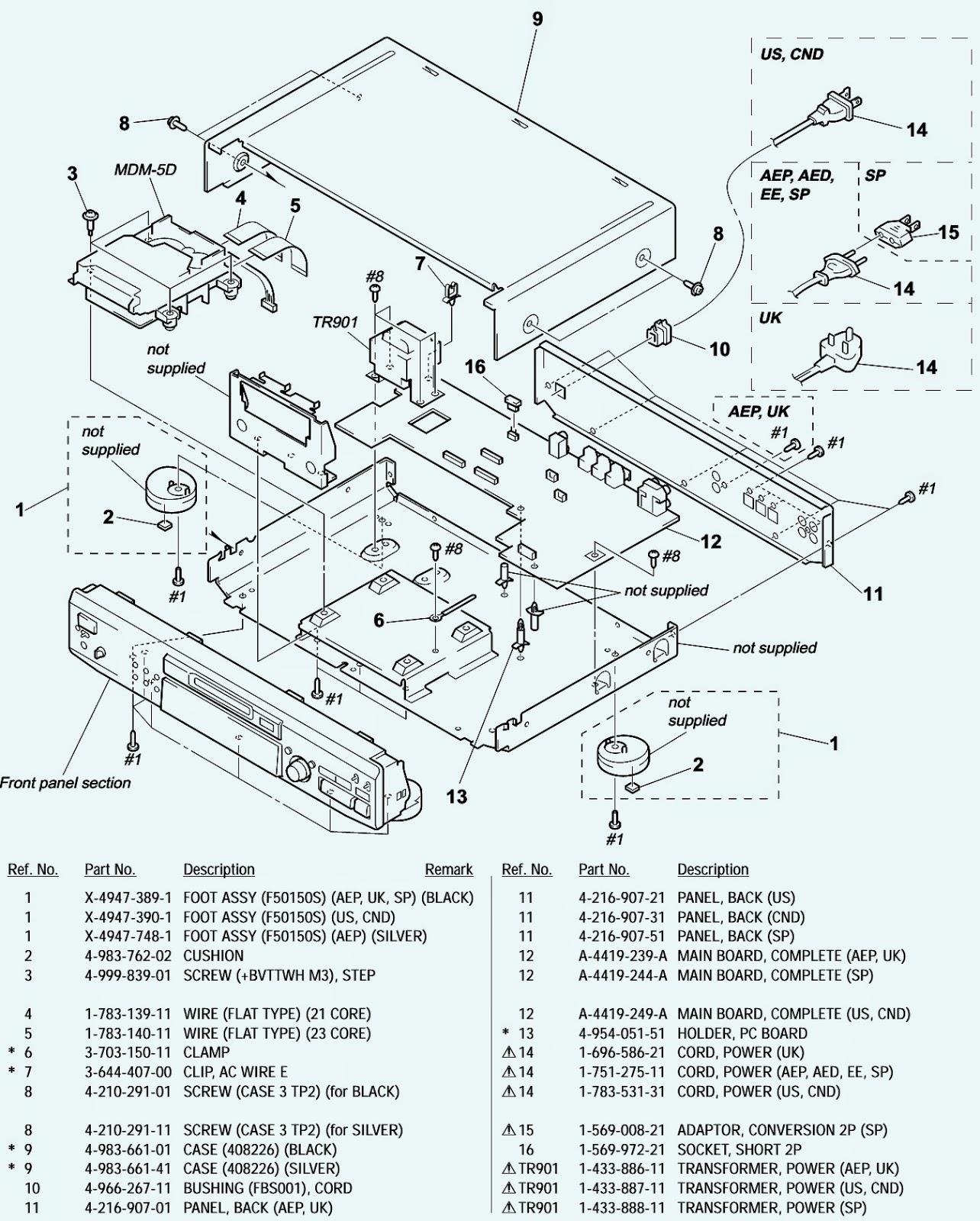 Volvo V70 Parts Diagram