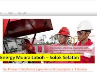 Solok Selatan Rekrutmen PT Supreme Energy - PLTP Muara Laboh : 6 Position Available