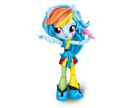 MLP Equestria Girls Minis Rainbow Rocks Rainbow Dash Figure