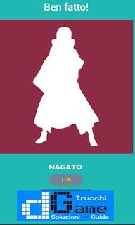 Soluzioni Quiz Naruto livello 43