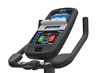 Nautilus U616 console with  blue backlit LCD display, image