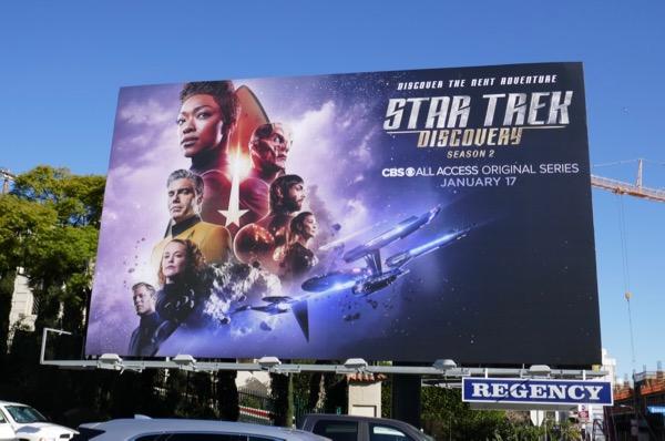 Star Trek Discovery season 2 billboard