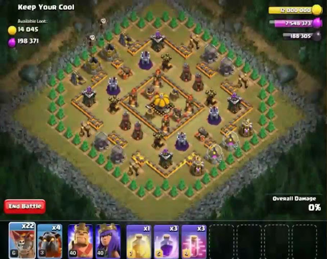 65. Keep Your Cool Goblin Base COC