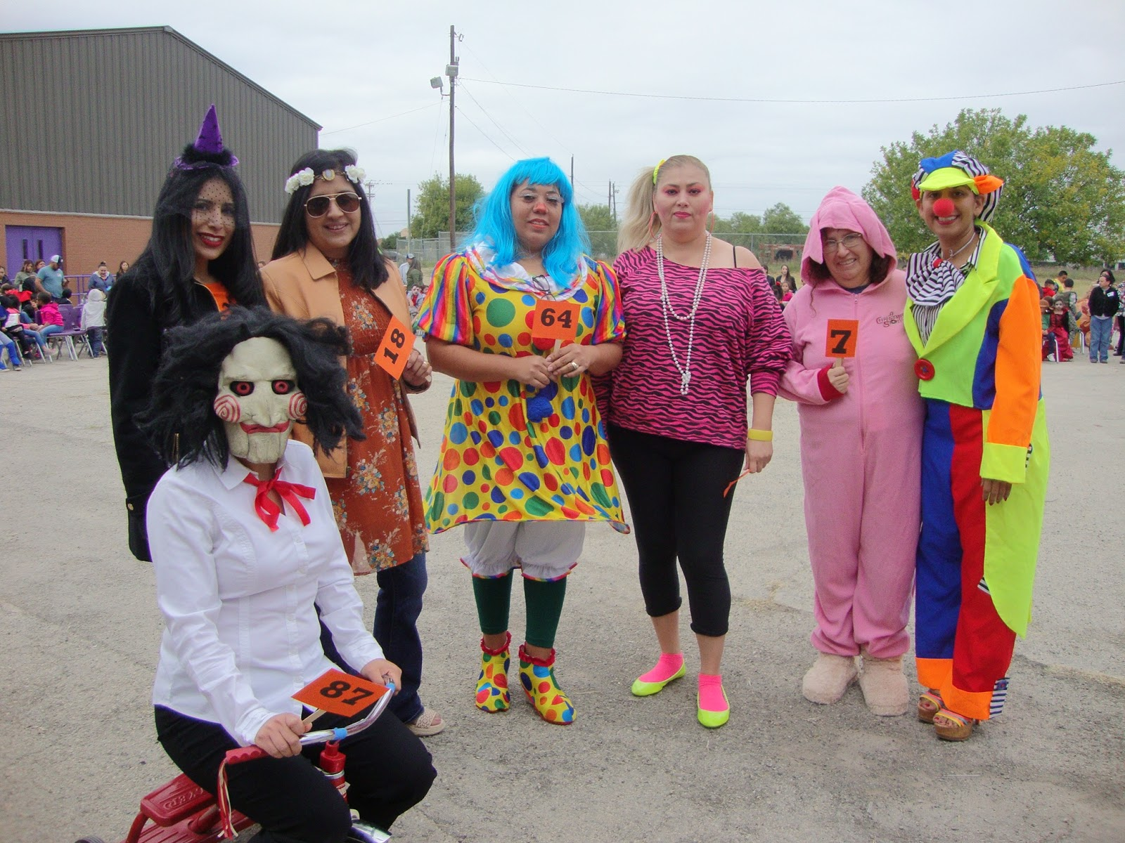 Eagle Pass Isd Ivision Darr Halloween Costume Parade