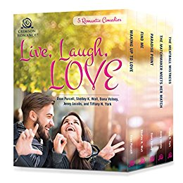 https://www.amazon.com/Live-Laugh-Love-Romantic-Comedies-ebook/dp/B01J2J5AJU/ref=sr_1_1?ie=UTF8&qid=1479023438&sr=8-1&keywords=evan+purcell
