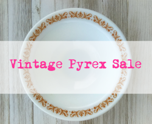 Thrift Store Addiction Vintage Pyrex sale
