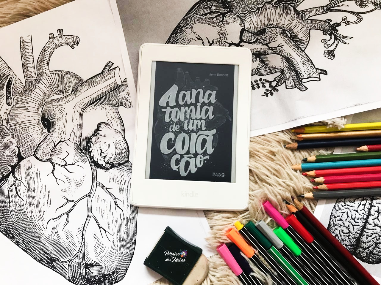 A Anatomia de um Coração || Jenn Bennette