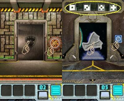 100 Doors Aliens Space Level 2 3 4 5 Walkthrough