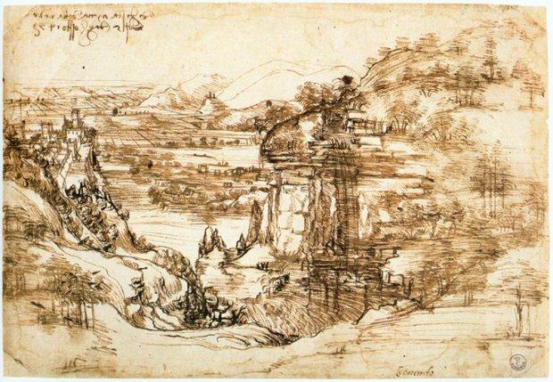 Dibujo Da Vinci