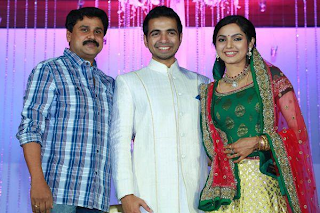 stills of samvrutha wedding reception