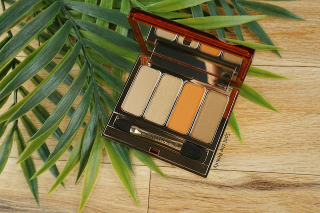 clarins limited edition summer 2017 makeup review swatches look