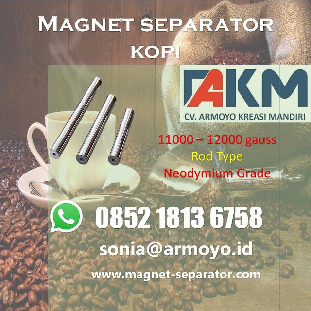magnet batangan kopi