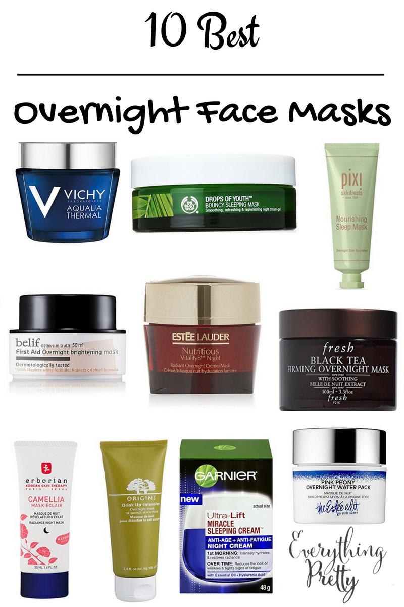 10 Best Overnight Face Masks Everything Pretty