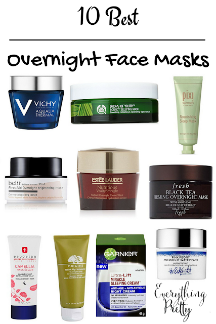 10 best overnight face masks