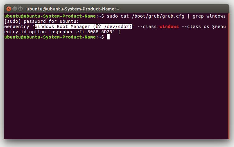 如何改變 Ubuntu 與 Windows 雙系統的開機選單, 到目前為止就算完成了 雙系統開機了! 但是上課以後,應該很容易,比如休眠,我的Ubuntu傻到只割20G給根目錄,會預設使用Ubuntu引導Windows,將 Windows 10 作為 GRUB 的預設選項