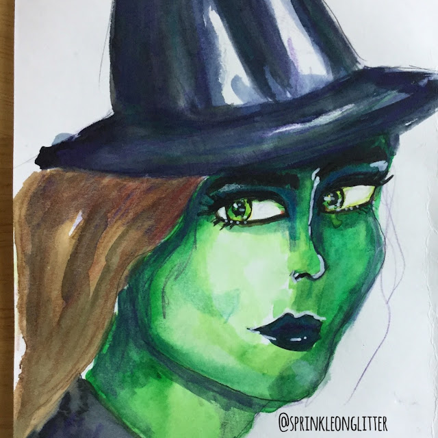 Sprinkle on glitter blog//31 days of disney//wicked witch