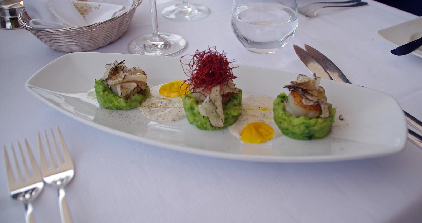 Scallops Nautika Restaurant Dubrovnik