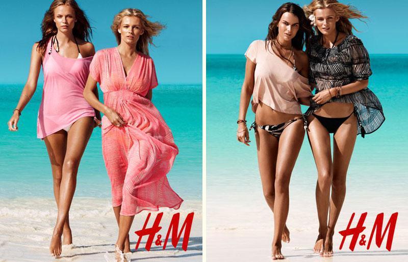 Andres Velencoso for H & M Swimwear Summer 2011