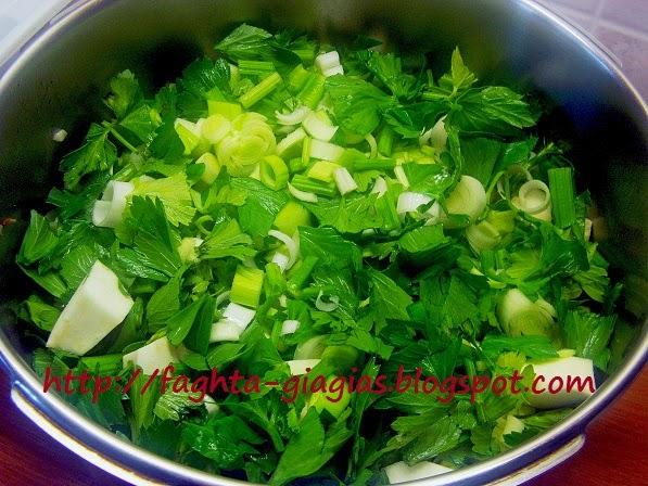 Τα φαγητά της γιαγιάς - Αρνάκι με πράσα και σέλινο (πρασοσέλινο)