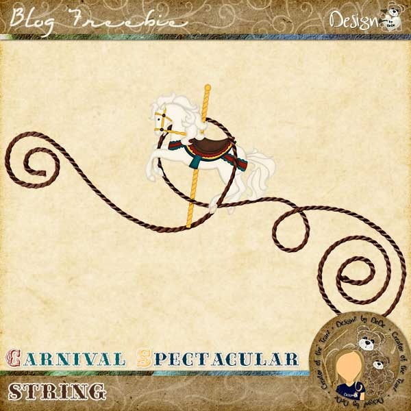 Carnival Spectacular String by DeDe Smith (DesignZ by DeDe)