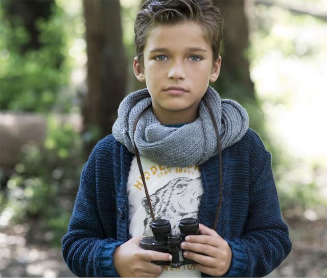 Sweaters para niños invierno 2017.