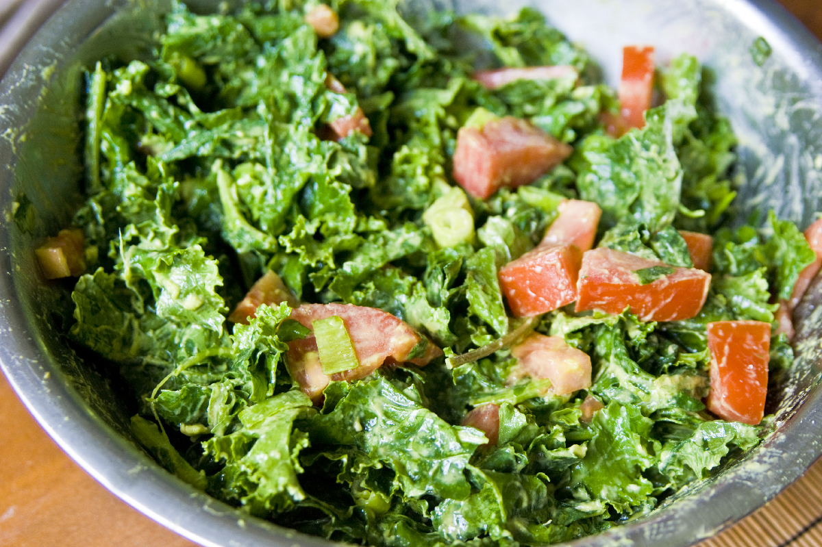 Kale Salad At Whole Foods