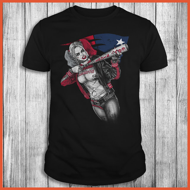 New England Patriots Harley Quinn T-Shirt
