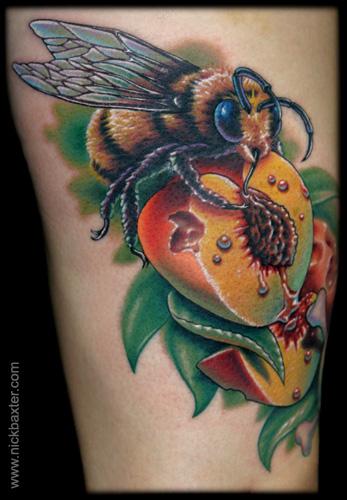 Star Auto Parts >> Trend Tattoos: Bee Tattoos
