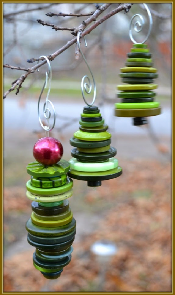 Let It Shine: Adorable Christmas Tree Ornaments - Made ...