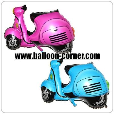 Balon Foil Motor Vespa
