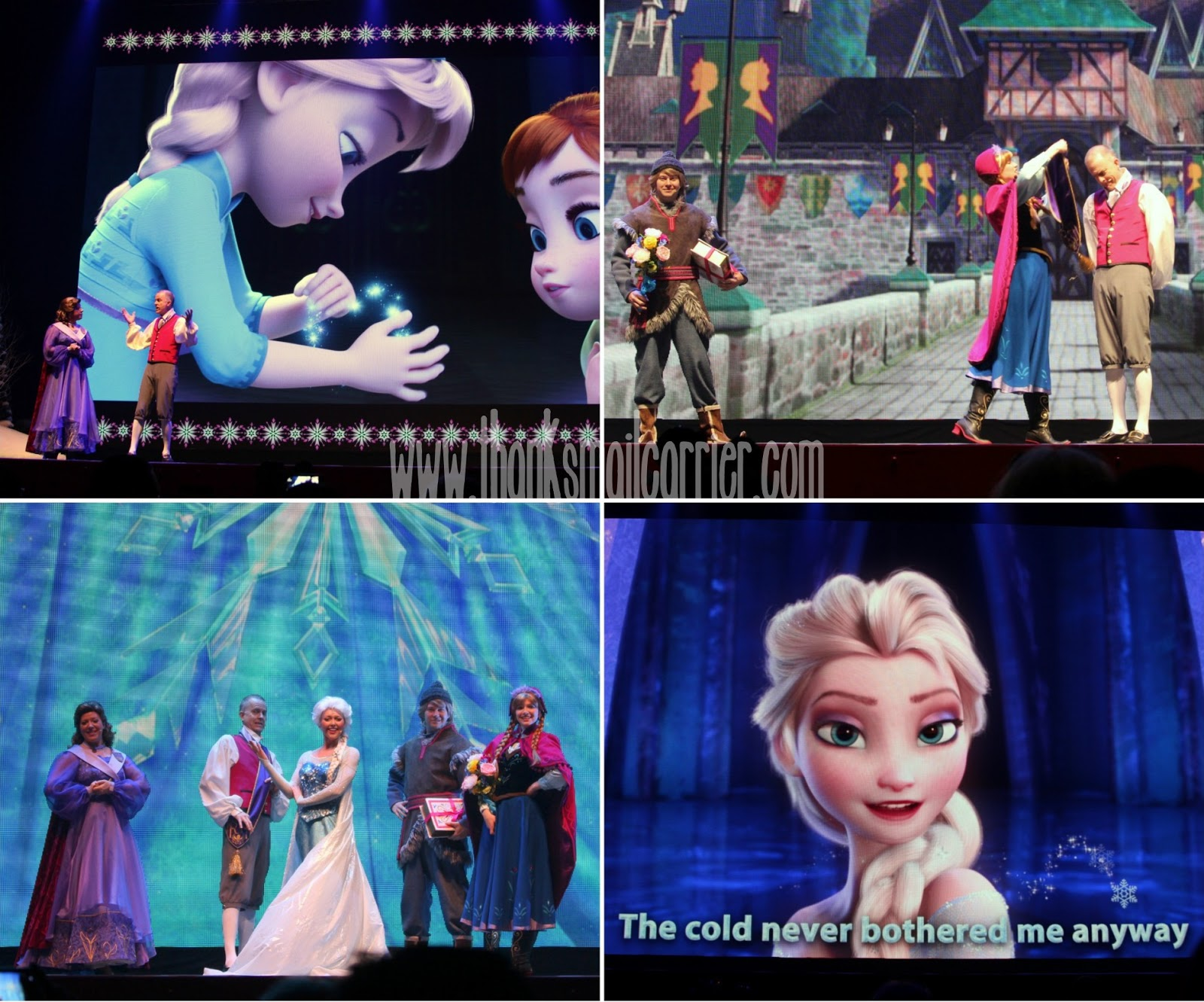Disneyland Frozen Sing Along