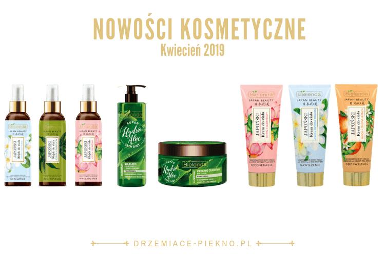 Nowości kosmetyczne w drogerii Rossmann - Kwiecień 2019