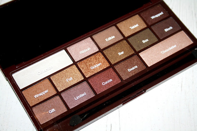 I Heart Makeup Golden Bar Eyeshadow Palette