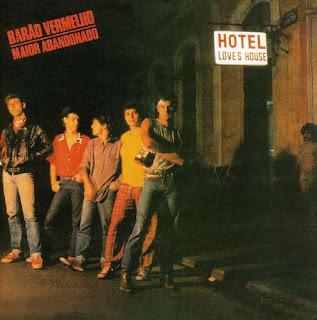 Capa do disco Maior Abandonado, lançado pelo Barão Vermelho em 1984