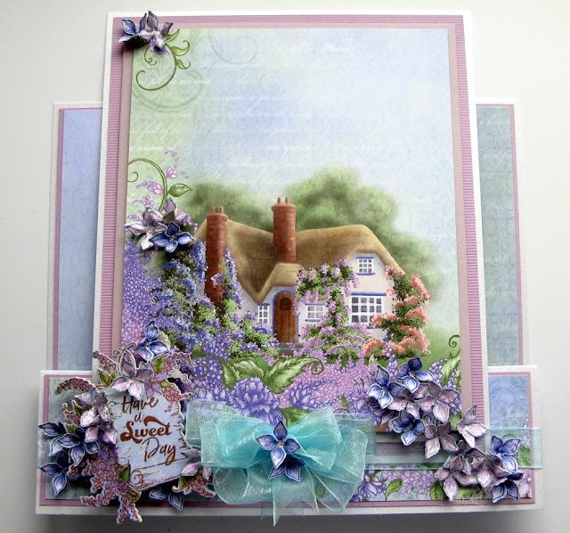 Susan Smit: A Lush Lilac Heartfelt Creations Wednesday