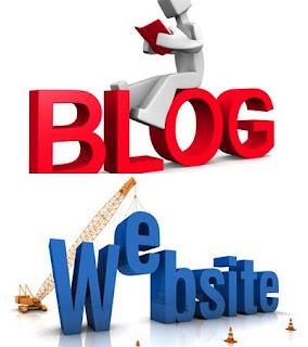 Blog atau weblog dan website merupakan media yang dapat kita gunakan untuk membagikan kon Perbedaan Blog dan Website