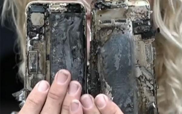 iPhone 7 bốc cháy