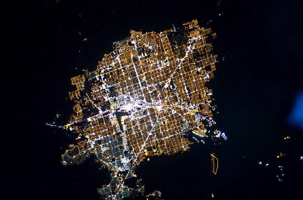 Las Vegas pode ser vista do espaço | Dicas de Las Vegas e