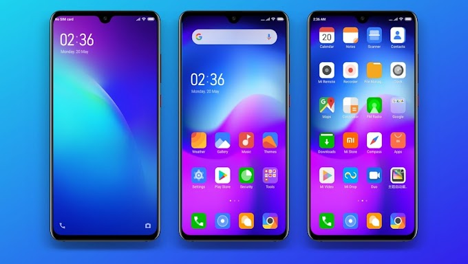 Blue ONE Mi Theme for MIUI 10 and MIUI 11