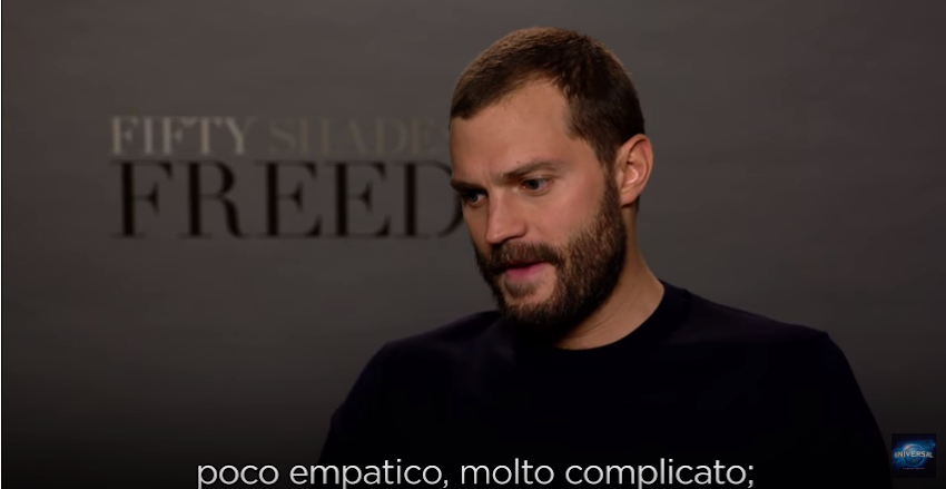 CINQUANTA SFUMATURE DI ROSSO - Intervista a Jamie Dornan