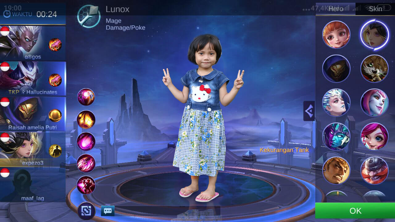 Menjaga Anak Sambil Bermain ML (Mobile Legend)