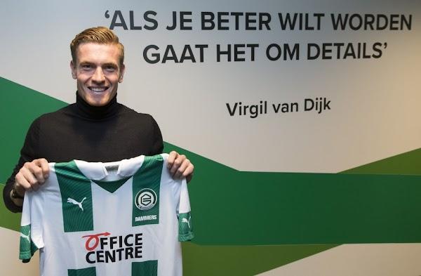Oficial: El Groningen ficha a Dammers hasta 2023