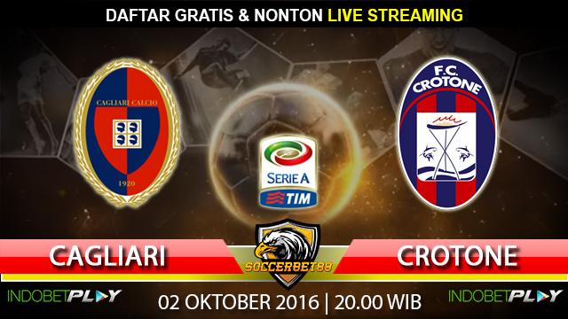 Prediksi Cagliari vs Crotone 02 Oktober 2016 (Liga Italia)