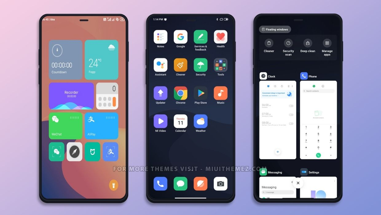 Mercury V12 MIUI 12 Theme