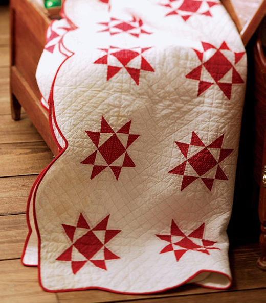 Ohio Star Quilt Free Pattern