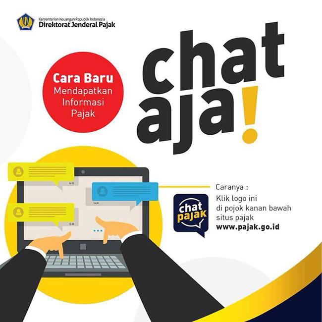 aplikasi Live Chat www.Pajak.go.id