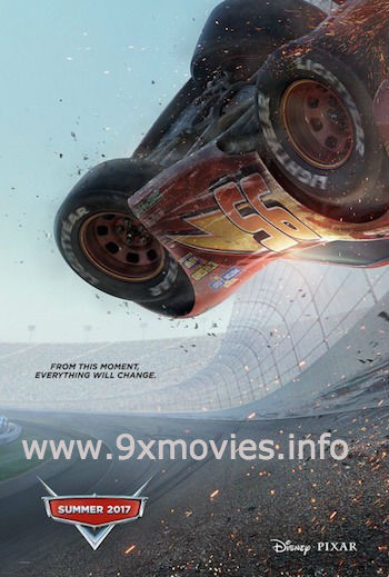 Cars 3 (2017) Dual Audio ORG Hindi 480p BluRay 300mb